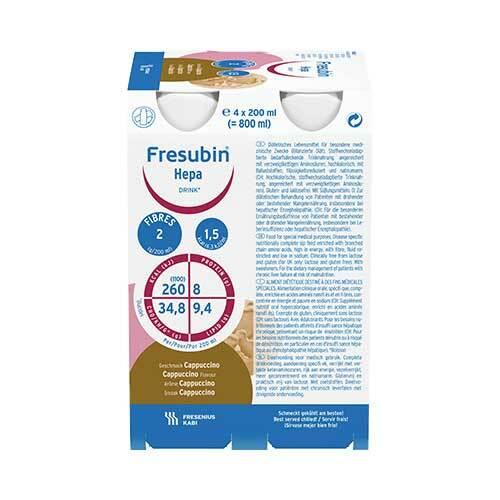Fresubin Hepa Drink Cappuccino Trinkflasche - 1