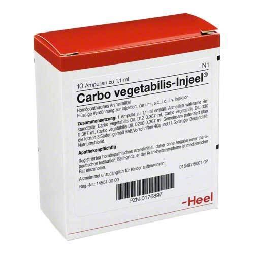 Carbo vegetabilis Injeel Ampullen - 1