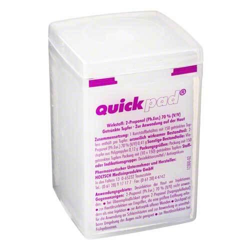 Quickpad Alkohol Tupfer Spen - 1