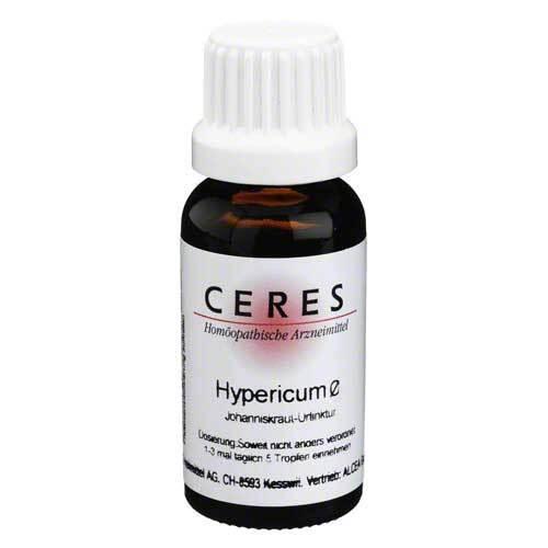 CERES Hypericum Urtinktur - 1