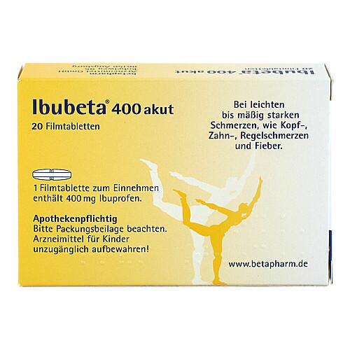 Ibubeta 400 akut Filmtabletten - 2