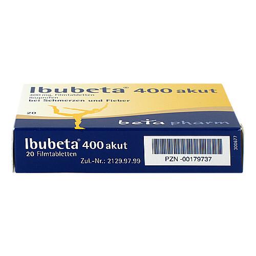 Ibubeta 400 akut Filmtabletten - 3