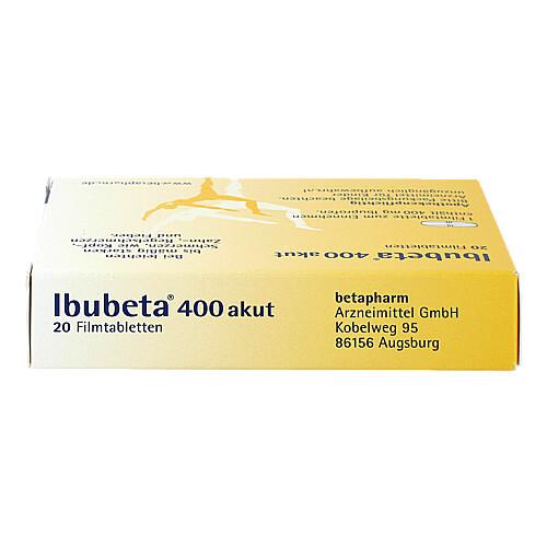 Ibubeta 400 akut Filmtabletten - 4