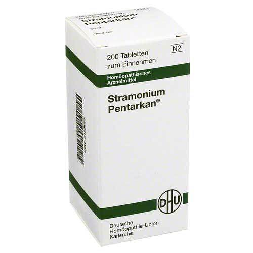 DHU Stramonium Pentarkan Tabletten - 1