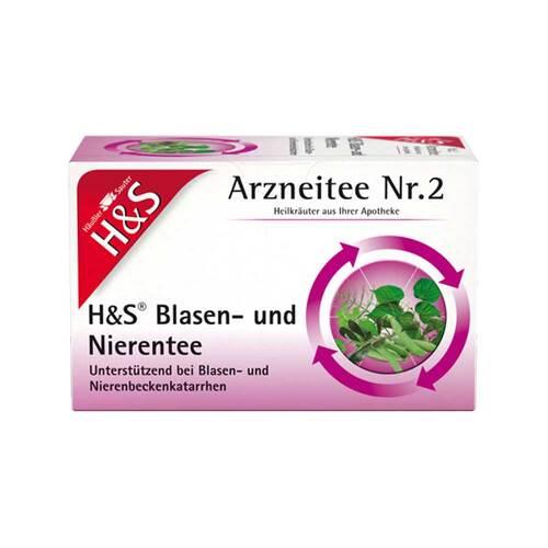 H&S Blasen- und Nierentee Filterbeutel - 2