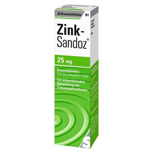Zink Sandoz Brausetabletten - 1