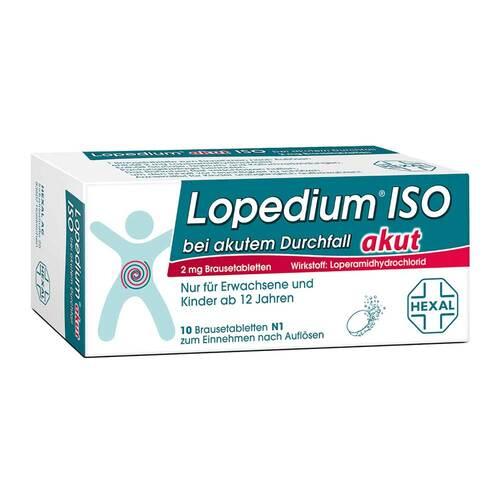 Lopedium akut Iso bei akutem Durchfall Brausetabletten - 1