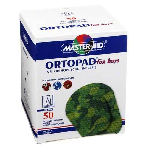 Ortopad for boys medium Augenokklusionspflaster - 1