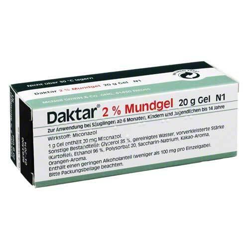 Daktar 2% Mundgel - 1