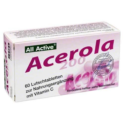 Acerola 200 All Active Lutschtabletten - 1
