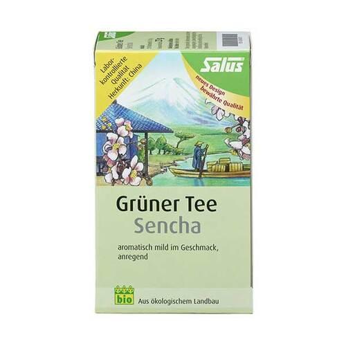 Grüner Tee bio Salus Filterbeutel - 1