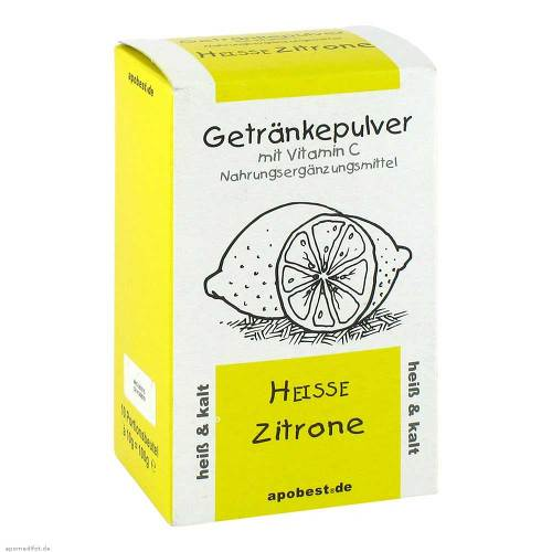 Heisse Zitrone Getränkepulver mit Vitamin C - 1