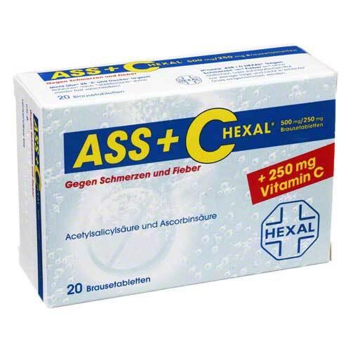 ASS + C Hexal gegen Schmerzen+Fieber Brausetabletten - 1