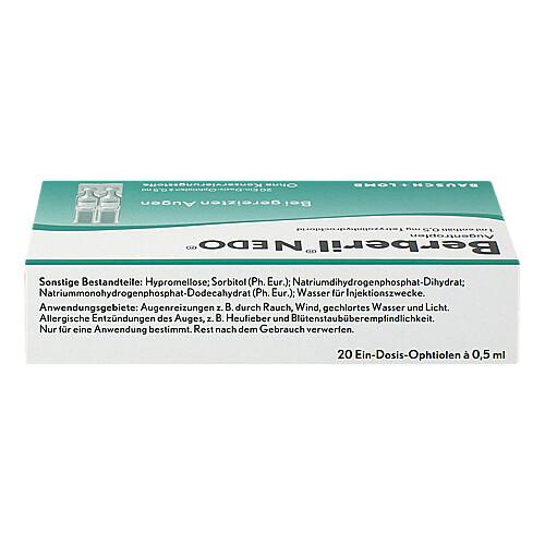 Berberil N EDO Augentropfen - 2