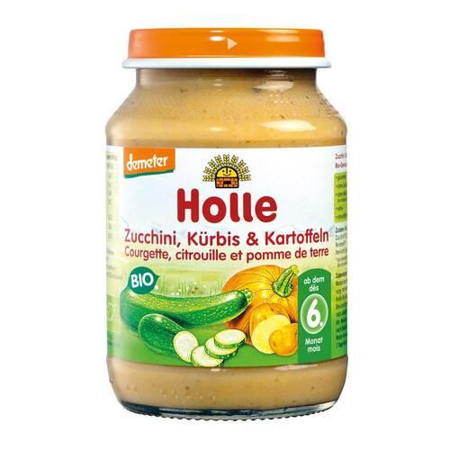 Holle Zucchini und Kürbis mit Kartoffeln - 1