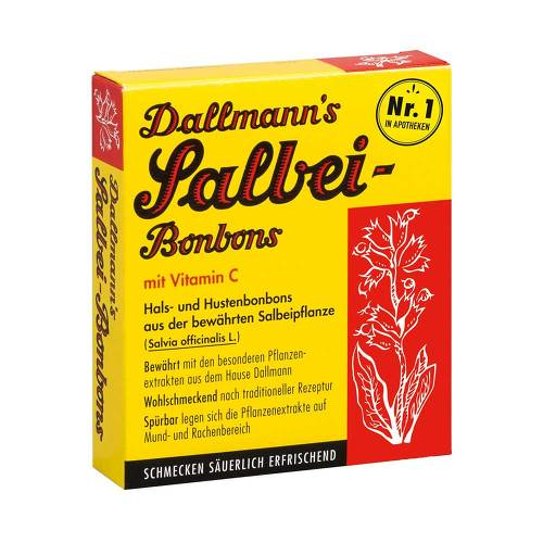 Dallmanns Salbeibonbons mit Vitamin C - 1