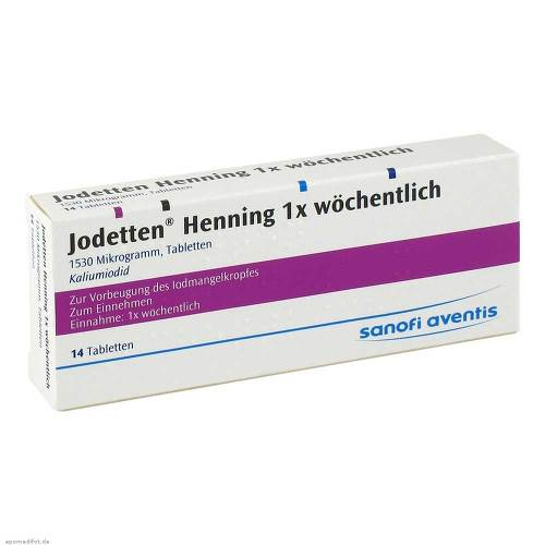 PZN 00270998 Tabletten, 14 St
