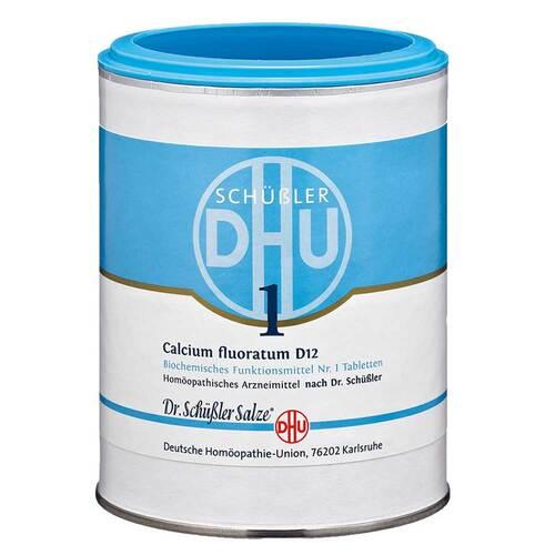 Biochemie DHU 1 Calcium fluoratum D 12 Tabletten - 1
