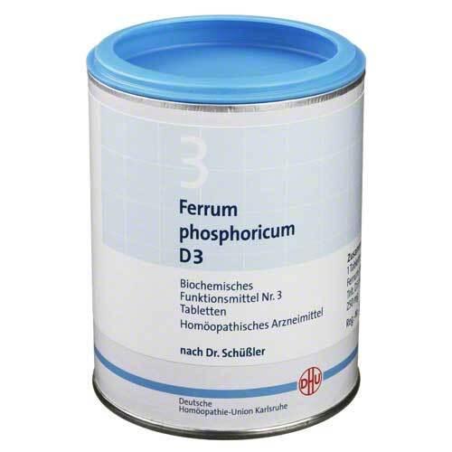Biochemie DHU 3 Ferrum phosphoricum D 3 Tabletten - 1
