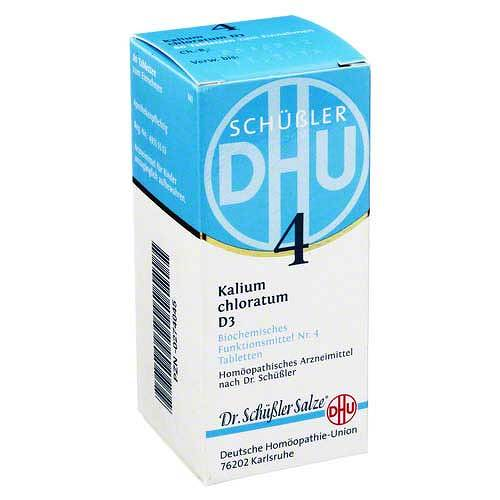 Biochemie DHU 4 Kalium chloratum D 3 Tabletten - 1