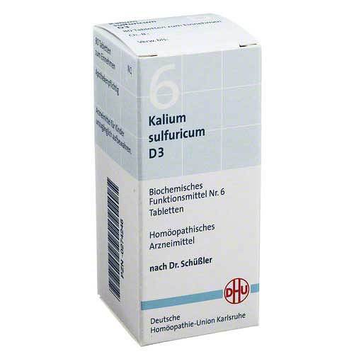 Biochemie DHU 6 Kalium sulfuricum D 3 Tabletten - 1