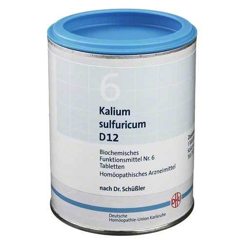 Biochemie DHU 6 Kalium sulfuricum D 12 Tabletten - 1