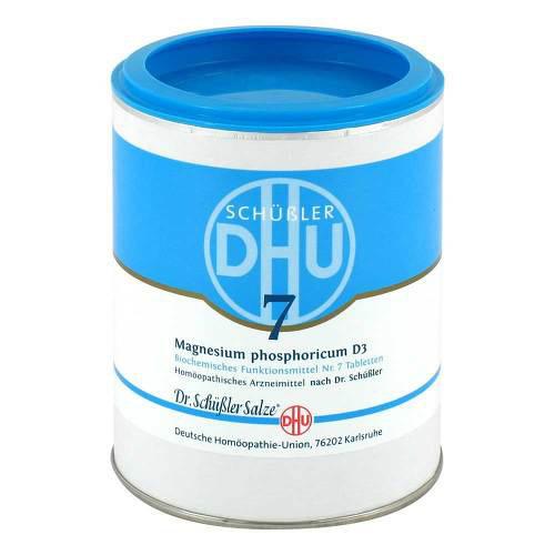 Biochemie DHU 7 Magnesium phosphoricum D 3 Tabletten - 1