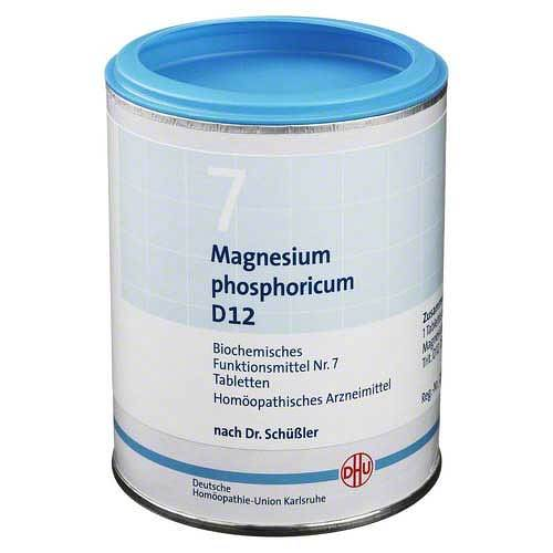 Biochemie DHU 7 Magnesium phosphoricum D 12 Tabletten - 1