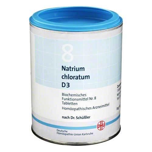 Biochemie DHU 8 Natrium chloratum D 3 Tabletten - 1