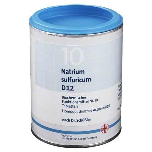 Biochemie DHU 10 Natrium sulfuricum D 12 Tabletten - 1