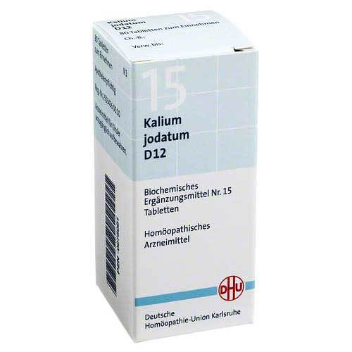 Biochemie DHU 15 Kalium jodatum D 12 Tabletten - 1