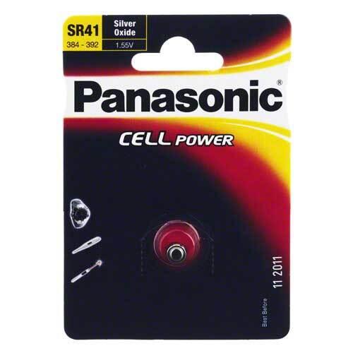 Batterien Knopfzelle SR 41 W - 1