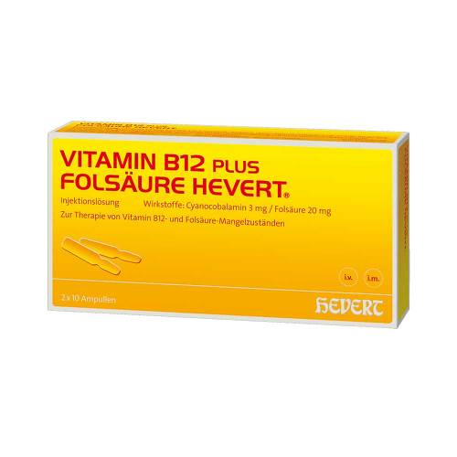 Vitamin B12 plus Folsäure Hevert - 1