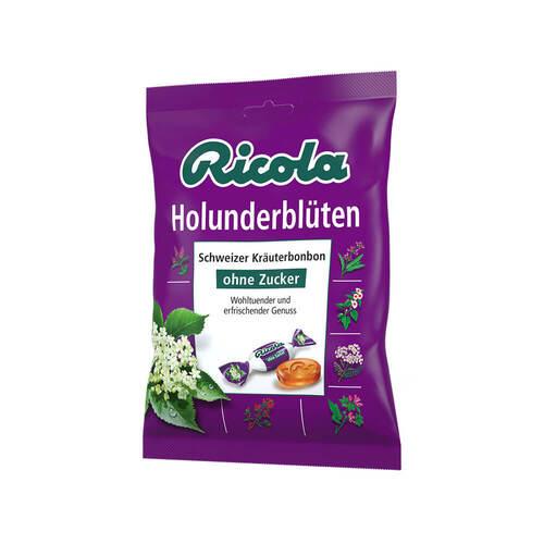 Ricola ohne Zucker Holunderblüten Bonbons - 1