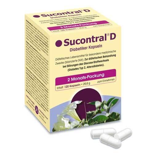 Sucontral D Diabetiker Kapseln - 1