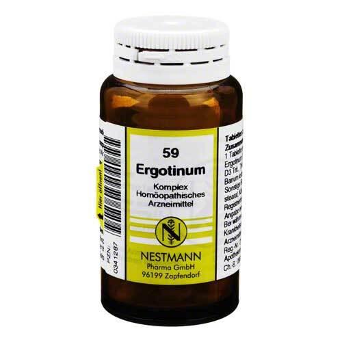 Ergotinum Komplex Tabletten - 1