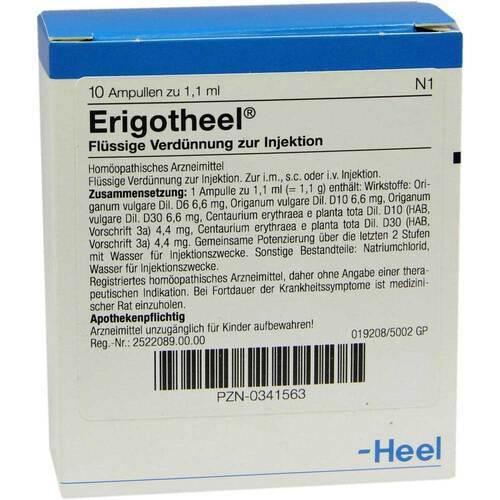 Erigotheel Ampullen - 1
