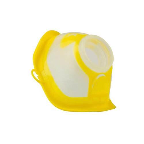 Microdrop RF7 Maske Kind gelb transparent - 1