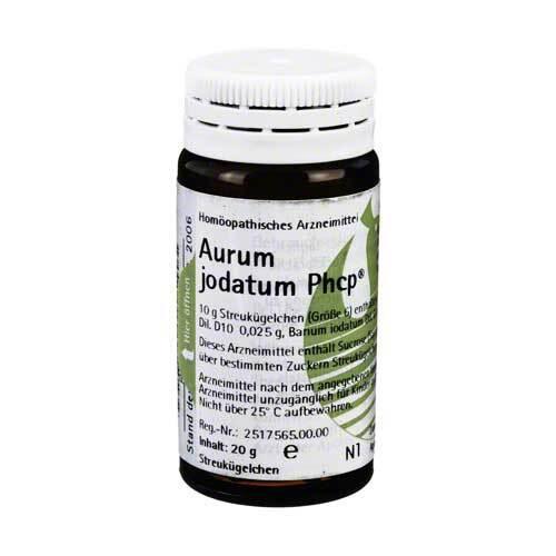 Aurum jodatum Phcp Globuli - 1