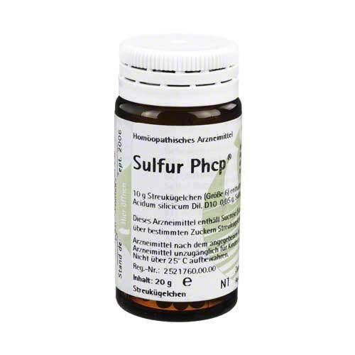 Sulfur Phcp Globuli - 1