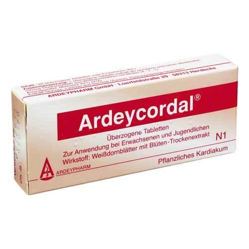 Ardeycordal überzogene Tabletten - 1
