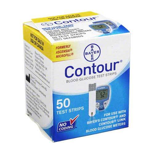 Contour Sensoren Teststreifen - 1