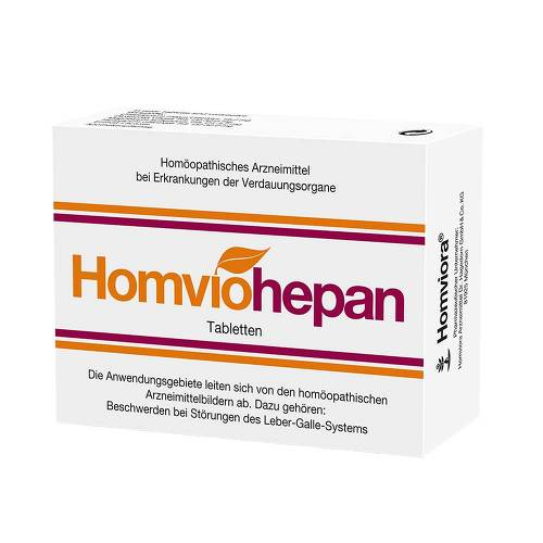 Homviohepan Tabletten Bei Aponeo Kaufen
