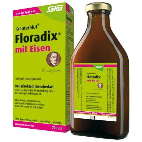 Floradix mit Eisen Lösung zum Einnehmen - 1
