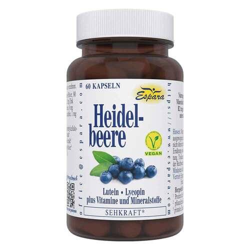 Heidelbeere Kapseln - 1