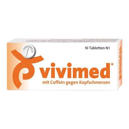 Vivimed mit Coffein gegen Kopfschmerz Tabletten - 1