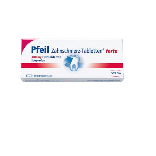 Pfeil Zahnschmerz Filmtablette - 1