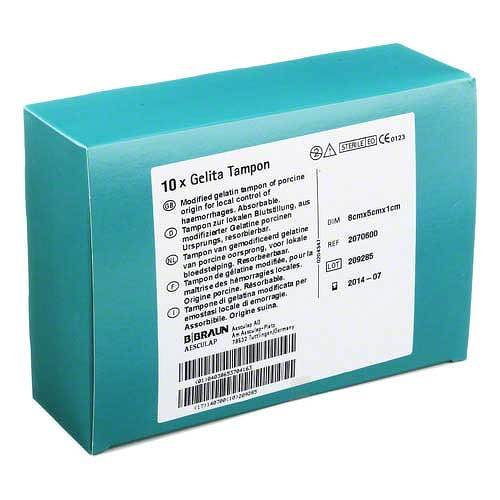 Gelita-Tampon 5x8x1cm - 1