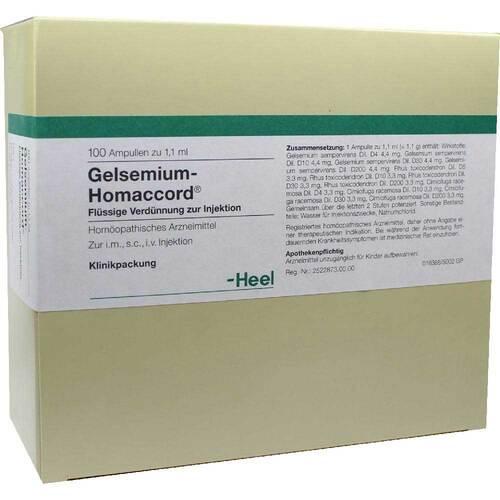 Gelsemium Homaccord Ampullen - 1