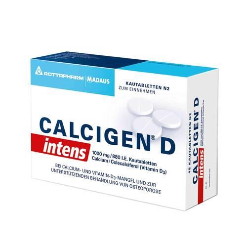 Calcigen D intens 1000 mg / 880 I.E. Kautabletten - 1
